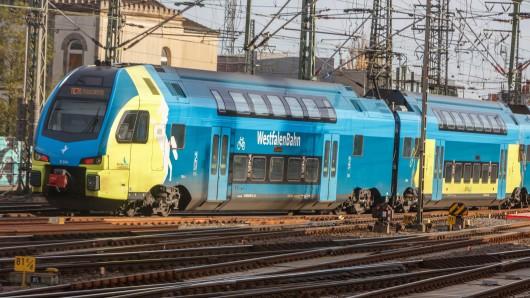 Die Westfalenbahn will sich noch heute konkreter zu dem Vorfall äußern (Archivbild).