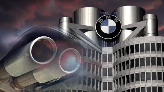 BMW ist am Montag zu einem Bußgeld verurteilt worden (Symbolbild/Montage).