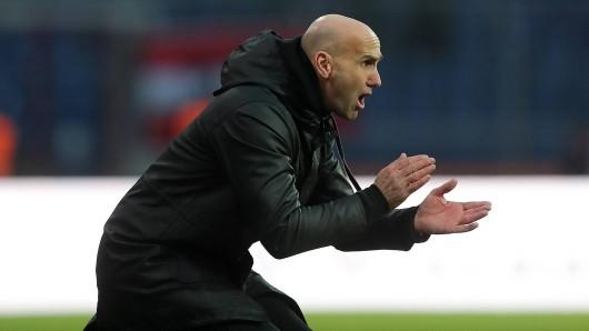 André Schubert setzt auch auf die Fans von Eintracht Braunschweig.
