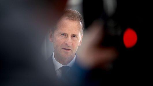 VW-Chef Herbert Diess geht es ums Personal – und auch um sich. (Archivbild)
