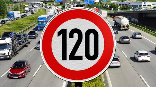 Die Grünen in Niedersachsen fordern ein Tempolimit von 120 km/h auf Autobahnen in Deutschland.