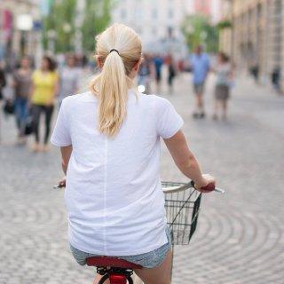 Die Polizei Peine hat eine betrunkene Frau auf dem Fahrrad erwischt. (Symbolbild)