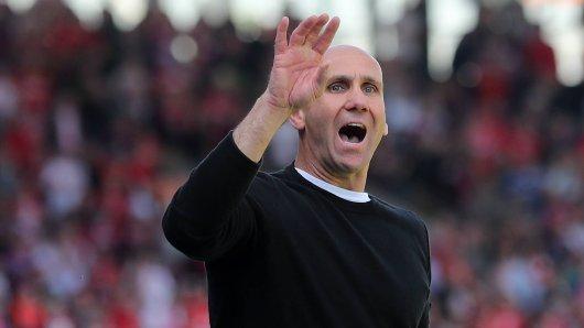 Trainer Andre Schubert verabschiedet sich von Eintracht Braunschweig.