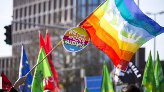 In Braunschweig gibt es eine Demo gegen den rechten Terror (Archivbild).