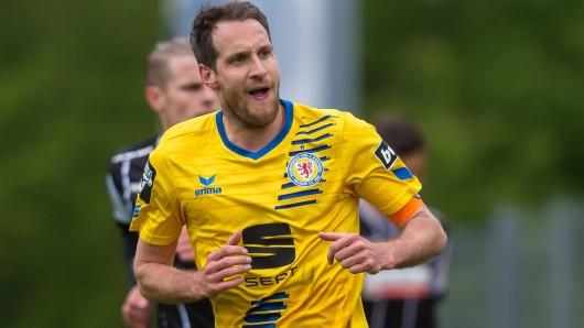 Legt vorerst das Kapitänsamt bei Eintracht Braunschweig nieder: Stephan Fuerstner.