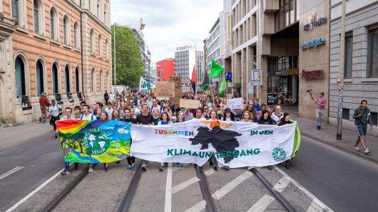 Politiker kritisieren die Fridays for Future-Demo in Hannover. (Archivbild)