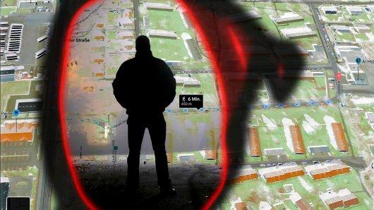 Ein junger Mann ist in Peine durch die Nacht gelaufen und wurde Opfer rigoroser Verbrecher.