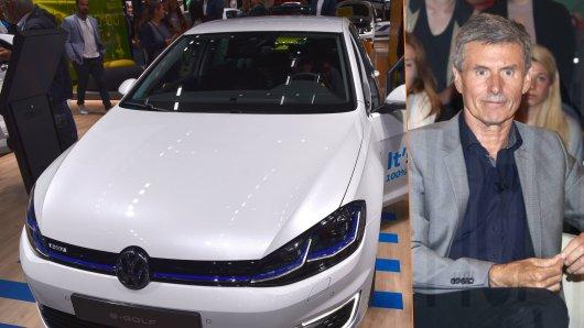Volkswagen bietet den E-Golf momentan für einen Spottpreis an. Auto-Experte Ferdinand Dudenhöffer erklärt wieso.