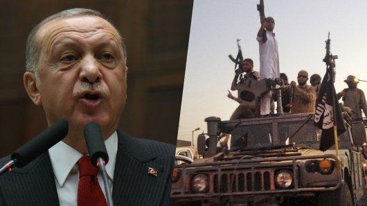 Recep Tayyip Erdogan und seine Regierung wollen IS-Terroristen zurück in ihre Herkunftsländer schicken. (Symbolbild)