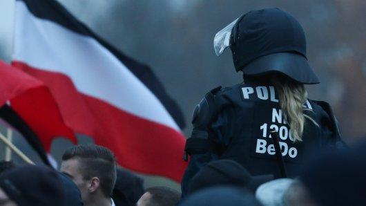 NPD und JN wollen am Sonntag in Braunschweig demonstrieren. So ganz wie sie das geplant hatten, dürfte es aber nicht klappen. (Symbolbild)