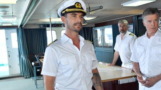 Florian Silbereisen als Traumschiff-Kapitän.