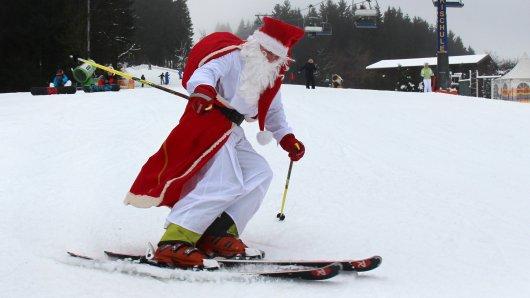 Wie wird das Wetter am Weihnachten? Es bleibt ein wenig Hoffnung auf weiße Weihnacht.