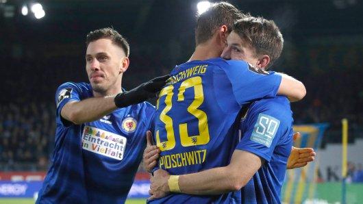 Nick Proschwitz von Eintracht Braunschweig war vor der Saison zum SV Meppen in die Löwenstadt gewechselt. Ein ruhiger Transfer war das nicht gerade...