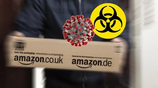 Ein Amazon-Bote hat sich in der Corona-Krise Unglaubliches geleistet. (Symbolbild)