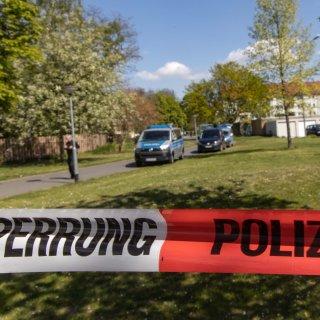 Die Polizei Salzgitter hat den Tatort abgesperrt.