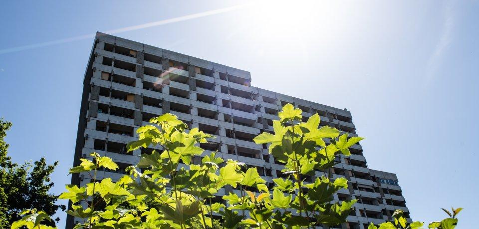 Das Iduna-Zentrum im Zentrum von Göttingen gilt als sozialer Brennpunkt. Hier wurden rund 60 der 700 Bewohner isoliert.