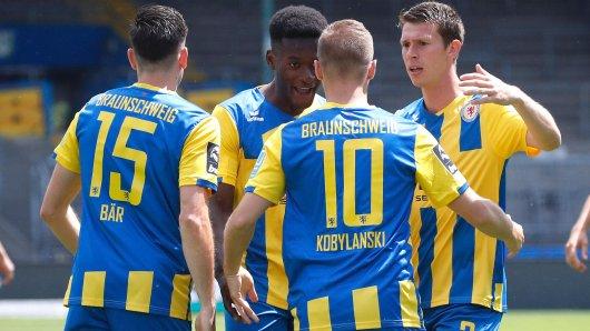 Eintracht Braunschweig: In den letzten vier Spielen müssen die Löwen alles geben. Denn in der 3. Liga ist noch lange nichts entschieden. (Symbolbild)