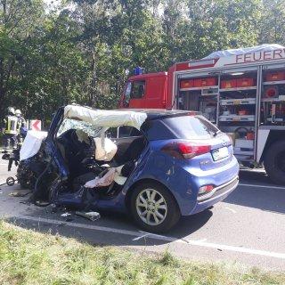 Eine Frau ist bei einem Unfall in Wietze (Niedersachsen) ums Leben gekommen. Auch ihr Baby war an Bord des Unfallwagens...