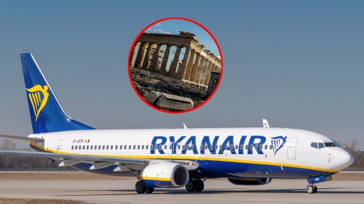 Eine Maschine von Ryanair auf dem Weg von Berlin nach Athen musste in Thessaloniki notlanden.