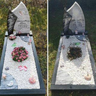 Im Kreis Gifhorn war mehrere Male ein Baby-Grab geschändet worden. Lange tappte die Polizei im Dunkeln – jetzt aber melden die Beamten einen Ermittlungserfolg. (Archivbild)