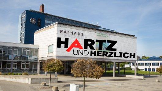 """Im Rathaus Salzgitter ist man über die neuen Folgen von """"Hartz und herzlich"""" alles anderes als glücklich... (Archivbild)"""