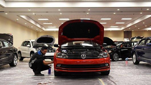 VW: Nazi-Bilder aus Mexiko lösten einen großen Skandal bei dem Autobauer aus. (Symbolbild)