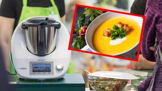 Eine Thermomix-Kundin will eine Kürbissuppe kochen. Doch dabei ging etwas schief. (Symbolbild)