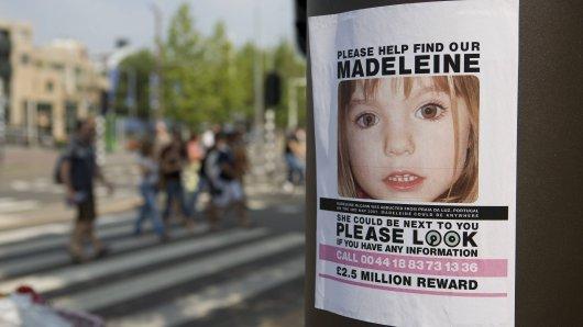 Maddie McCann ist im Alter von drei Jahren spurlos verschwunden.