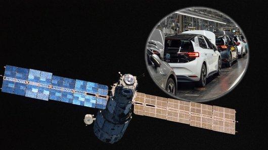 Das Brokerhauses Mainfirst beobachtet die Auslieferung des VW ID.3 per Satellitenbilder aus dem All. (Symbolbild)