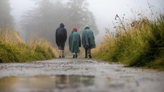 Am Freitag bringt das Wetter in Niedersachsen ordentlich Regen mit sich.