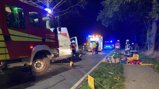 Zwischen Fürstenau und Wahle im Kreis Peine hat es am Montagabend einen schweren Unfall gegeben.
