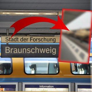 Eine Frau aus Braunschweig ist verwundert, weil sie DAS am Hauptbahnhof gesehen hat!