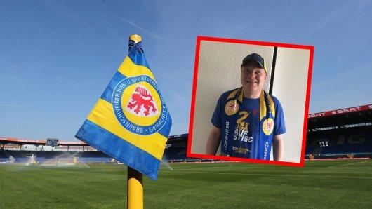 Dirk Busse ist leidenschaftlicher Eintracht Braunschweig-Fan. Durch die Blindenreportage kann er jedes Spiel seit 2005 genau mitverfolgen.