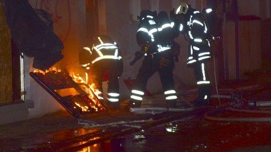 In Wolfenbüttel hat es in der Nacht in einem Restaurant gebrannt.