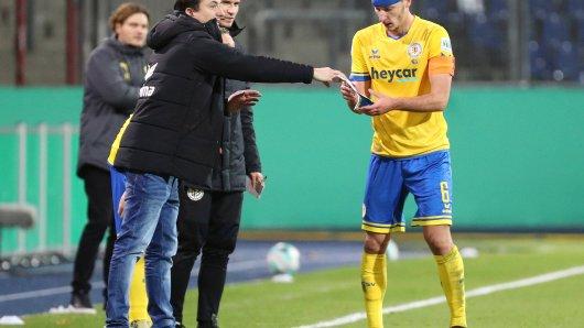 Die Gerüchte-Küche brodelt: Holt Eintracht Braunschweig noch zwei Spieler in der Winterpause? (Archivbild)