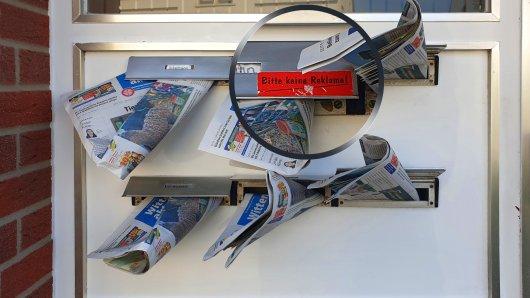 Ein Zettel an einem Briefkasten in Hannover kursiert derzeit im Netz und sorgt für gute Laune. (Symbolbild)