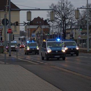 Polizeiaufkommen und ein Autokorso am Samstag sorgten bei einigen Braunschweigern für Verwunderung.