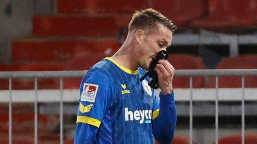 Eintracht Braunschweig: Manuel Schwenk fehlt drei Spiele.