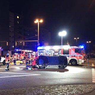 Die Feuerwehr Braunschweig befreite die Frau aus ihrer hilflosen Lage.
