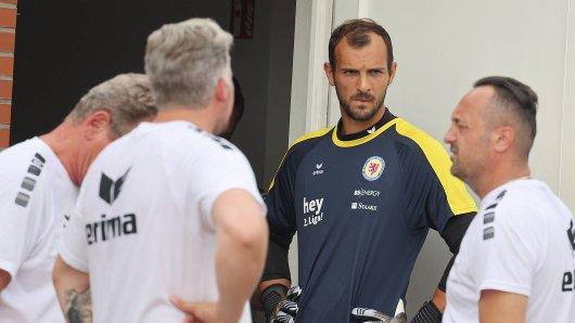 Marcel Engelhardt verlässt Eintracht Braunschweig. Ihn zieht es ins Ausland... (Archivbild)
