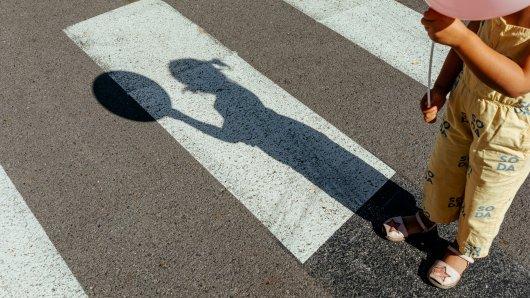 Für die Zukunft ihrer Kinder setzte eine Mutter aus Braunschweig auf einen Zebrastreifen und demonstrierte. (Symbolbild)