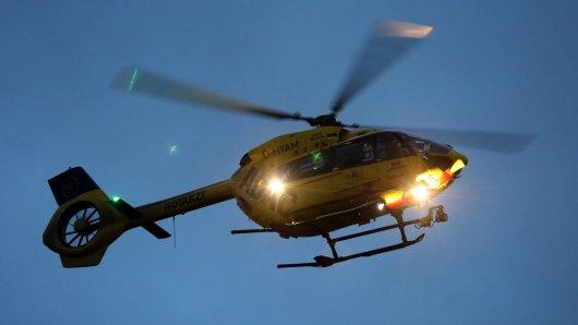 In der Nacht von Freitag auf Samstag wunderte sich viele Bürger in Wolfsburg, was der Hubschrauber am Himmel macht. (Symbolbild)