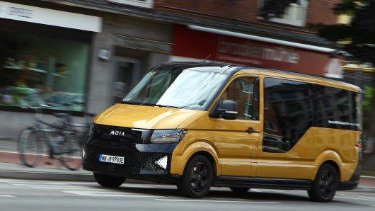 In Action werden nur wenige Passanten in Hamburg und Hannover die Fahrzeuge der VW-Tochterfirma Moia sehen. (Symbolbild)