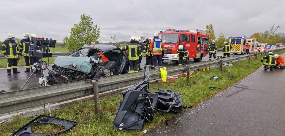 Bei Rühen im Kreis Gifhorn hat es am Freitagmorgen einen schweren Unfall gegeben.