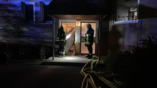 Wolfsburg: Ein Wohnungsbrand in Fallersleben hat die Nachbarschaft am Samstagmorgen in Atem gehalten.
