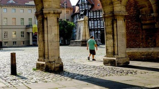Braunschweig: Ein Mann machte plötzliche eine erschreckende Entdeckung. (Symbolbild)