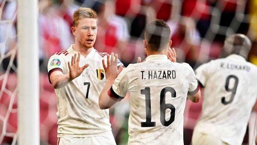 Belgien muss bei der EM 2021 für das letzte Gruppenspiel auf einen Top-Star verzichten.
