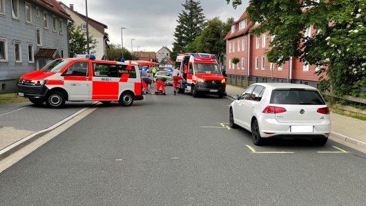 In Clausthal-Zellerfeld (Harz) erfasste eine Autofahrerin (32) ein Kind.