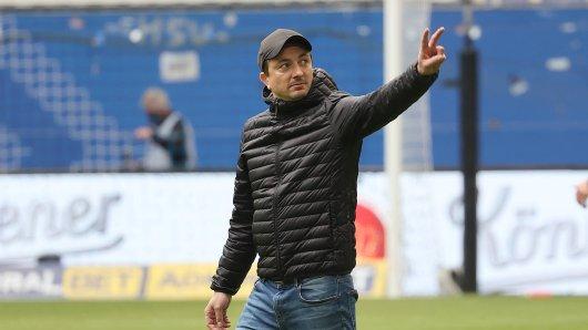 Eintracht Braunschweig ist mit Daniel Meyer aus der Zweiten Liga abgestiegen.