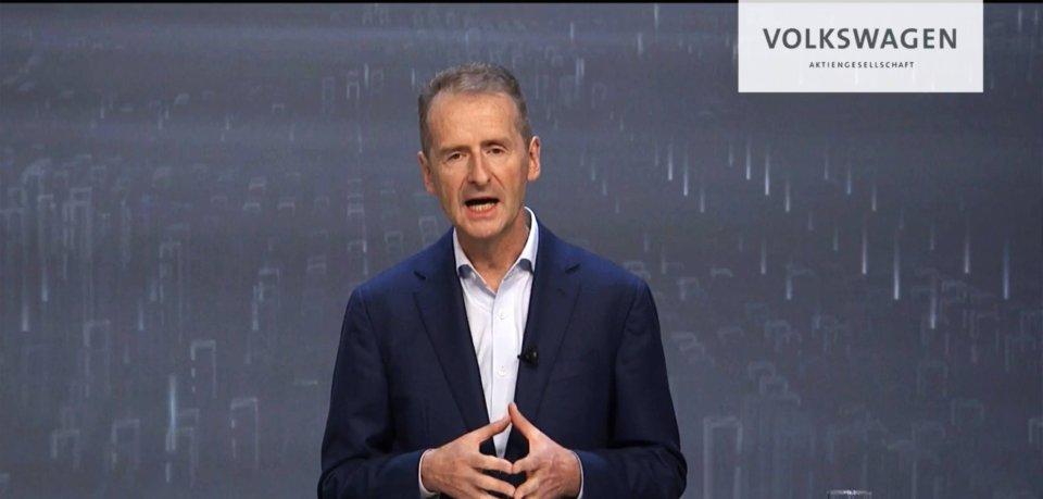 VW: Herbert Diess bleibt bis 2025 Konzernchef. (Symbolbild)